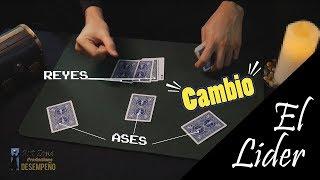 Facil truco con cartas - El Lider