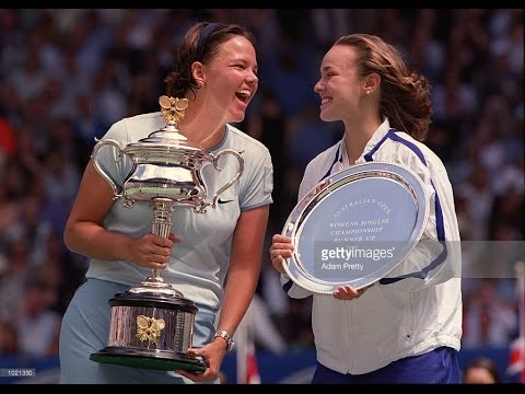 Lindsay Davenport VS Martina Hingis Highlight 2000 AO Final