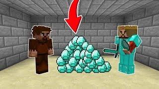 ZENGİN, FAKİRE BAYRAM HARÇLIĞI 5000 ELMAS VERİYOR! 😎 - Minecraft Video