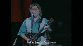 Illés - Sárga rózsa - Esperanto - subteksto