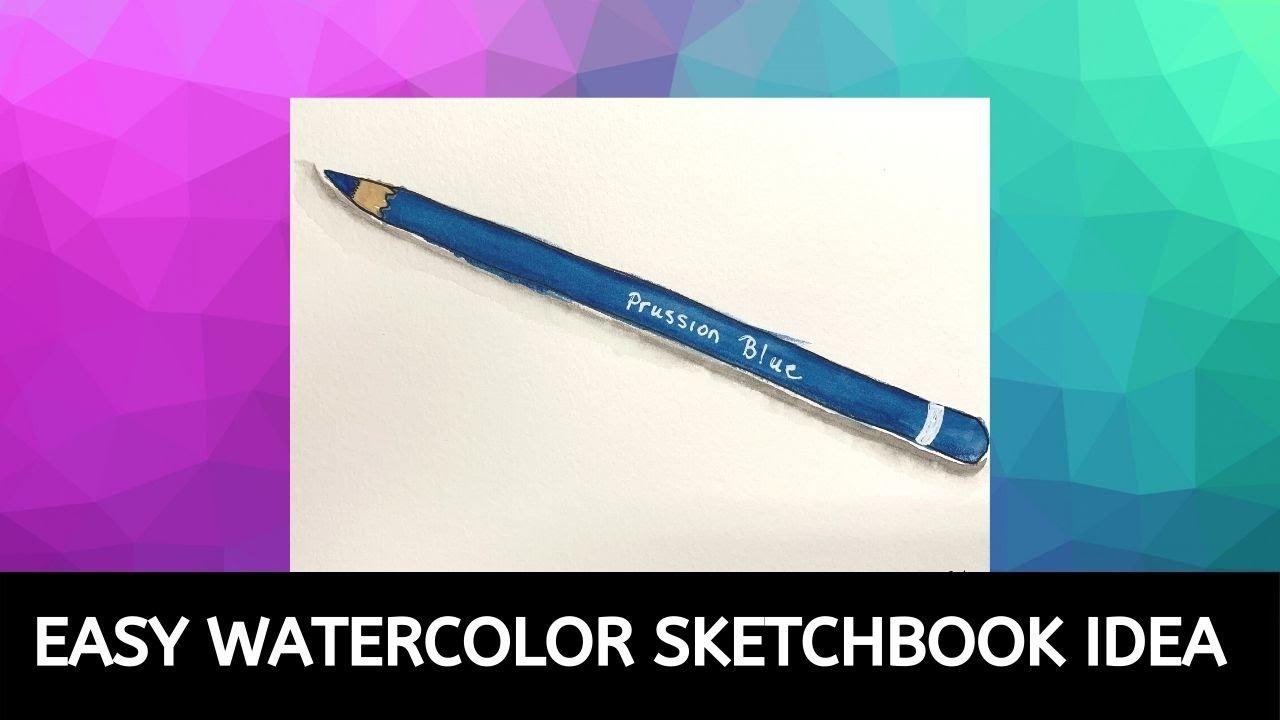 Easy Sketchbook Idea