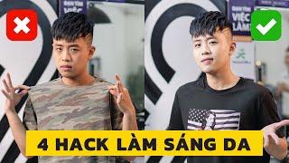 4 Hack Làm Trắng Da Cho Nam Trong 1 Nốt Nhạc - Không Cần Skincare Phức Tạp