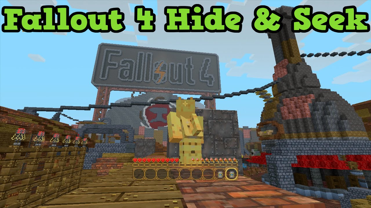 Minecraft Xbox 360 One FALLOUT 4 Hide And Seek YouTube