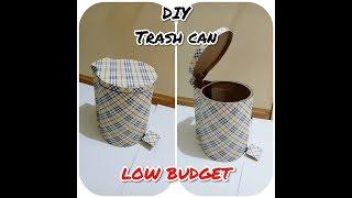 DIY TRASH CAN from cardboard // On Creation ^^