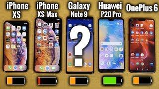 Quel Smartphone a la Meilleure Batterie ?