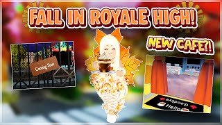 🍂 NEW FALL UPDATE IN ROYALE HIGH! 🍂 | Roblox Royale High Update