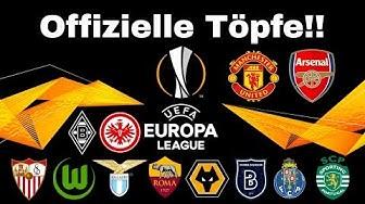 OFFIZIELLE EL TÖPFE!! Wir losen die Europa League aus!