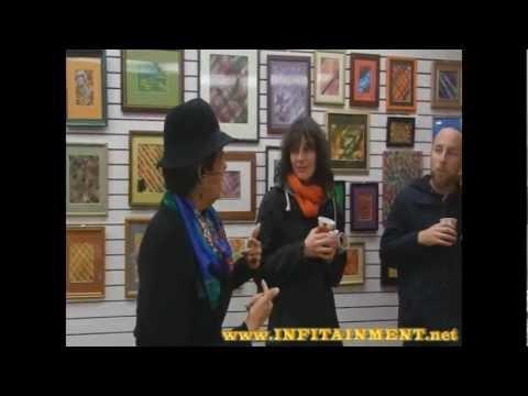 Mixed Media Artist Pamela Cole Exibit at Frame Fat...