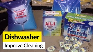 Dishwasher not cleaning properly?