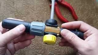 Изменение конструкции пенной насадки Karcher FG10