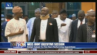 Buhari Asked To Fire Non Performing Appointees 05/06/18 Pt.1 |News@10| thumbnail