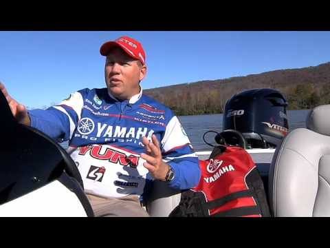 Yamaha Pro Angler & 2008 BassMaster Classic Champion Alton Jones on V MAX SHO