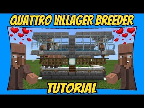 Villager Breeder Tutorial [Minecraft Bedrock Edition] [MCPE]