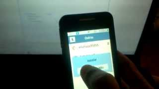 Whatsapp samsung GT-b6520l LG LT375  fail nao funciona