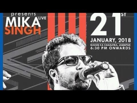 How to book online free ticket for meet mika Singh in jodhpur