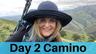 Day 2 Camino Full Journey. St. Jean Pied De Port, France to Orrison up the Pyrenees Mountains