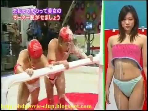 Xe chỉ luồn kim (Xem gái tắm) - Japan Game show