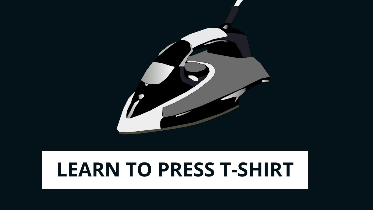 How To Press Shirts At Home Youtube