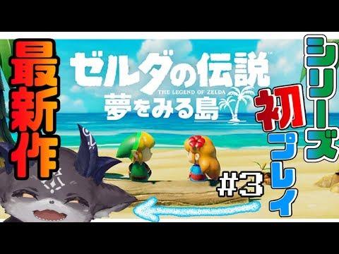 【ゼルダ新作】夜ゼルダ!絶対ダンジョンクリア!【ゼルダの伝説夢をみる島】
