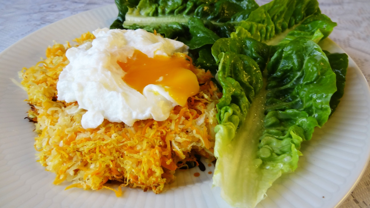 gratin de légumes et œuf poché | maman cuisine - youtube