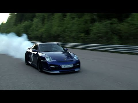 Porsche 911 Turbo (1500 HP) — accident
