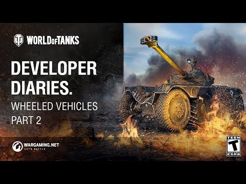 Developer Diaries: Wheeled Vehicles. Part 2