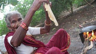 బామ్మా గారి చపాతీ  రెసిపీ |Traditional Chapathi Recipe | Chicken Chapathi By Granny |Country foods