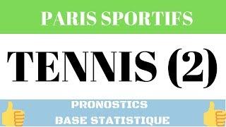 Paris Sportifs : Prono Tennis Féminin Top Confiance Base Statistique