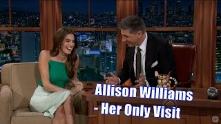 Allison Williams - Her Fathers Opinions On Her Work - Her Only Appearance [720p]