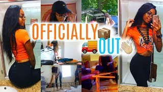 MOVING VLOG #2 | Officially Moved Out!  • Lawenwoss