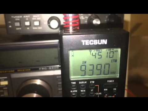 9390 KHz Radio Thailand broadcasting in Thai heard in Oxford, UK