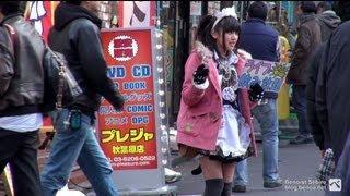 Maid Cafés & Otakus in Akihabara - 秋葉原