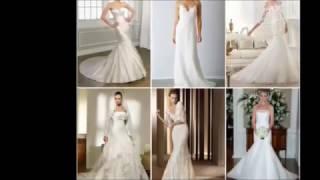 Elegant wedding dresses Элегантные свадебные платья