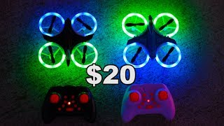 MUST HAVE LED DRONE!! - Easy To Fly! - GS-XXD158-YW - TheRcSaylors