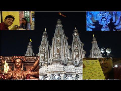 Kolkata Durga Puja 2017 PART- II. SINTHI MORE, DUM DUM NAGER BAZAR Kolkata Vlog... FTZ Vlog