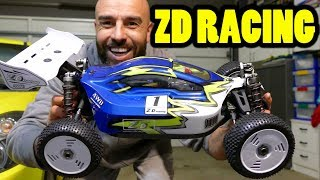 ZD RACING 1/8 120BUGGY 4WD AMP - Unboxing et le premier coup d'oeil