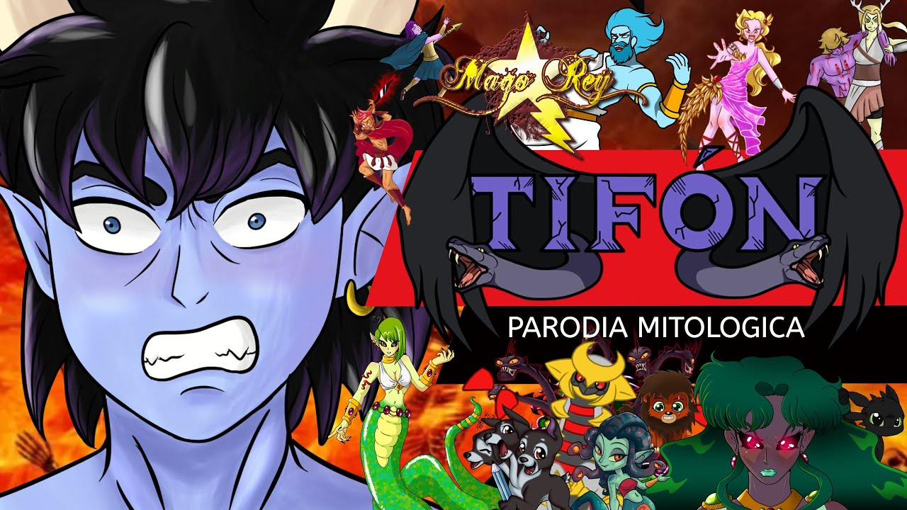 TIFON - PARODIA MITOLOGICA -  MAGO REY