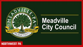 Meadville City Council (Apr 7, 2021)