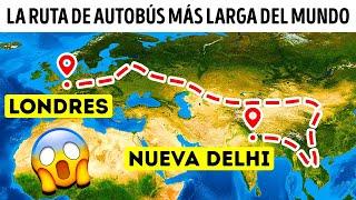 Un autobús que te lleva de la India a Londres en 70 días