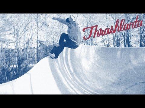Thrashlanta: Waterslide Skateboarding