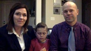 Little boy says angels helped him save his dad
