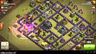 Pinoy Warlords vs Hampshire Hawks clash of clans clan war