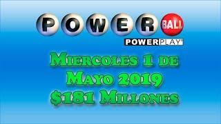 Gambar cover ResultadosPowerball 1 de Mayo 2019 $181 Millones de dolares | Powerball en Español