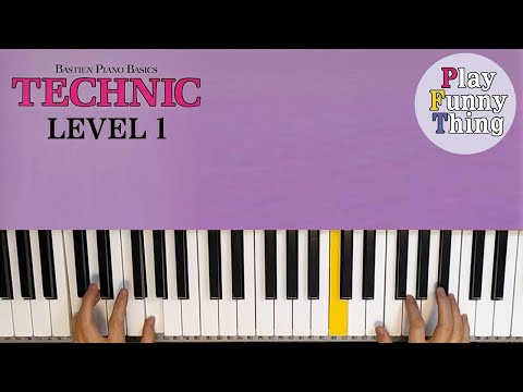 lift-off!-(p.28)---bastien-piano-basics-level-1---technic