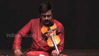 Violin classical instrumental by A. Jayadevan -  Kurai Ondrum Ellai