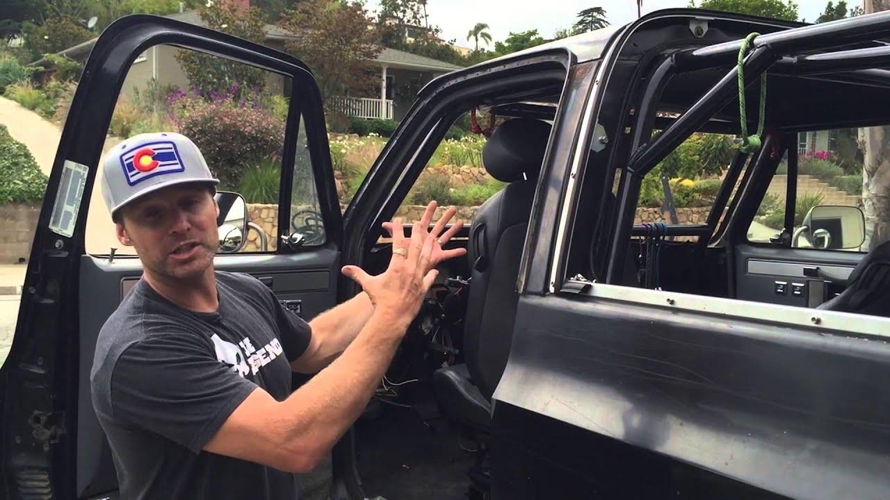 Diy4x Rollcage 73 87 Gm Trucks Youtube