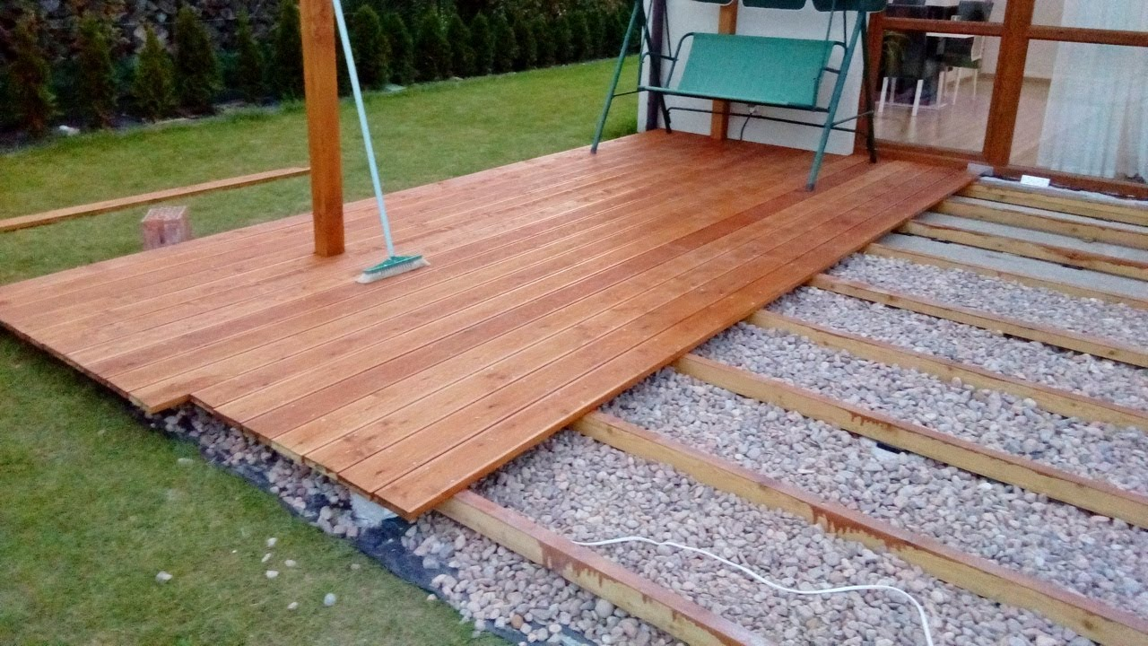 How To Build A Ground Level Deck By Yourself