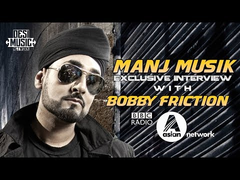 MANJ MUSIK INTERVIEW WITH BOBBY FRICTION | BBC ASIAN NETWORK | 29-Nov-2017