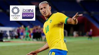 บราซิล 4-2 เยอรมัน | ฟุตบอลชายกลุ่มดี | โอลิมปิกเกมส์ โตเกียว 2020