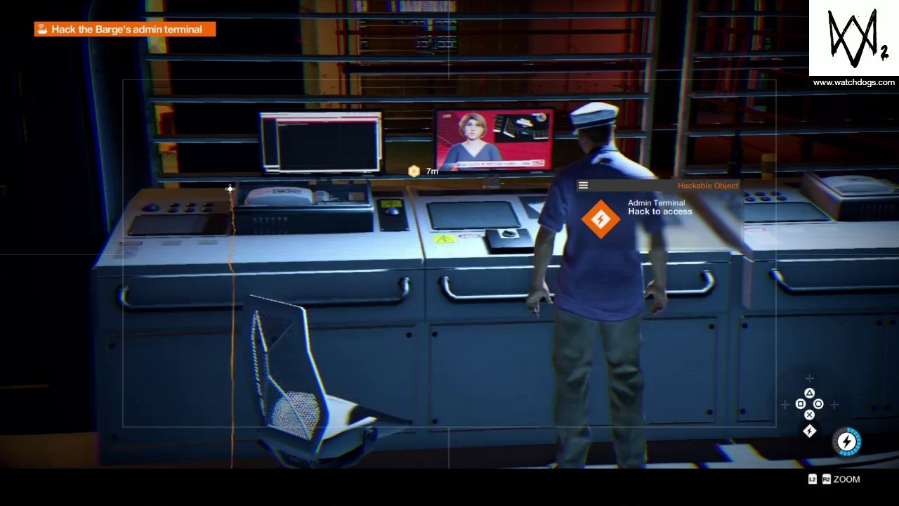 Hack Into The Barge Watch Dogs